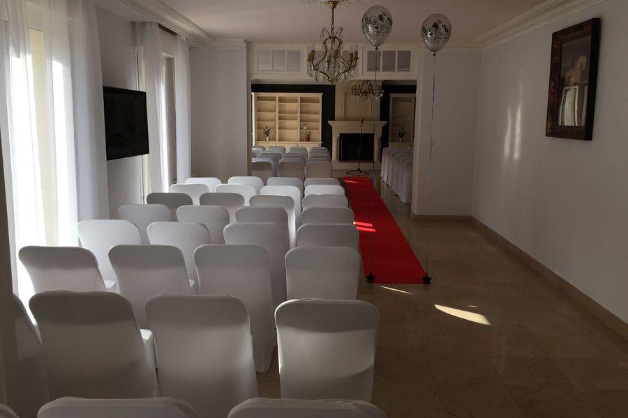 Villa Diana Salle de séminaire