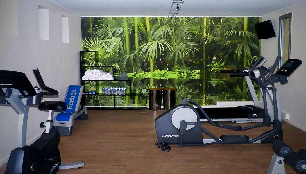 Hôtel Restaurant Les Oliviers *** Salle de fitness