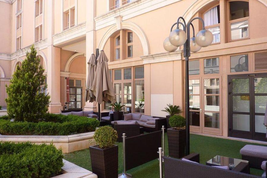 Appart'Hôtel Odalys Atrium *** Terrasse