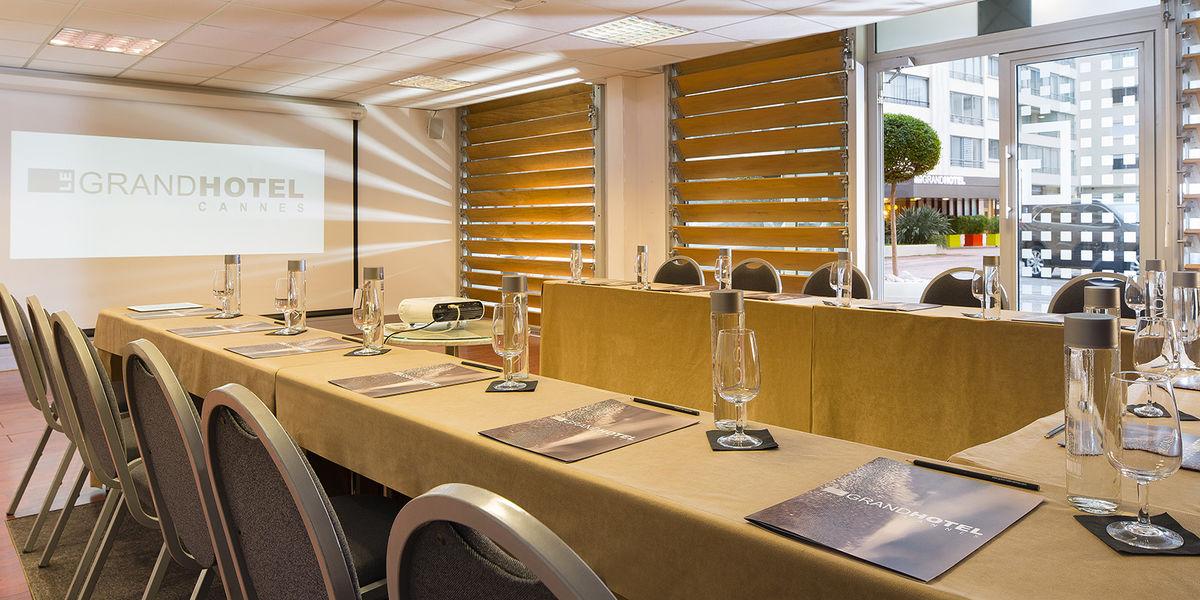 Le Grand Hôtel Cannes ***** Salle de séminaire