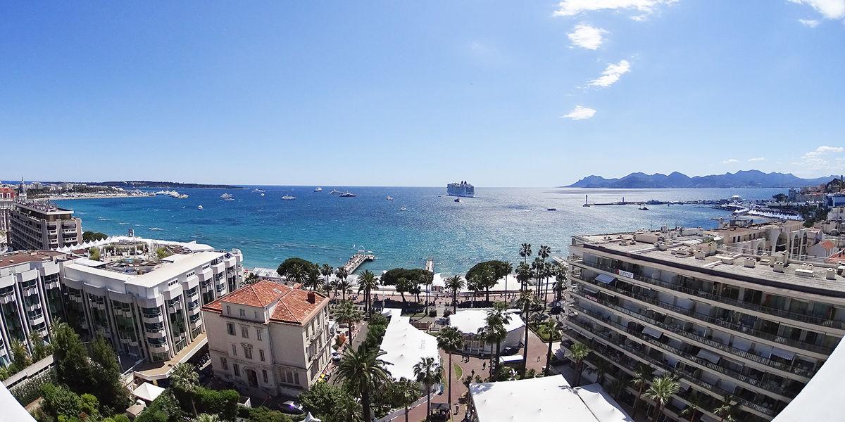 Le Grand Hôtel Cannes ***** Vue