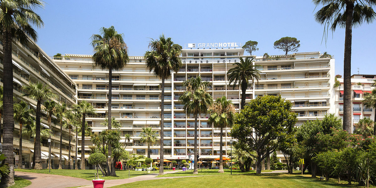 Le Grand Hôtel Cannes ***** Façade