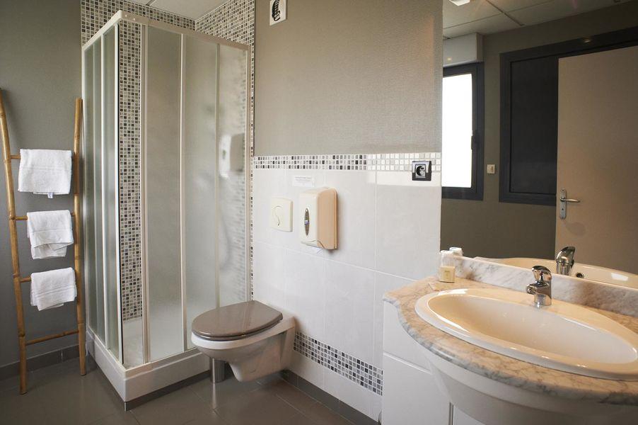 Hôtel de Loire - Les Bateliers *** Salle de bain