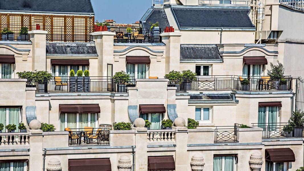 Prince de Galles, Paris Façade