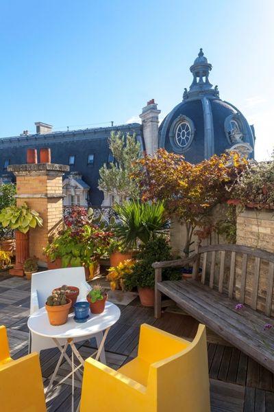 Hôtel Orléans l'Abeille *** Terrasse