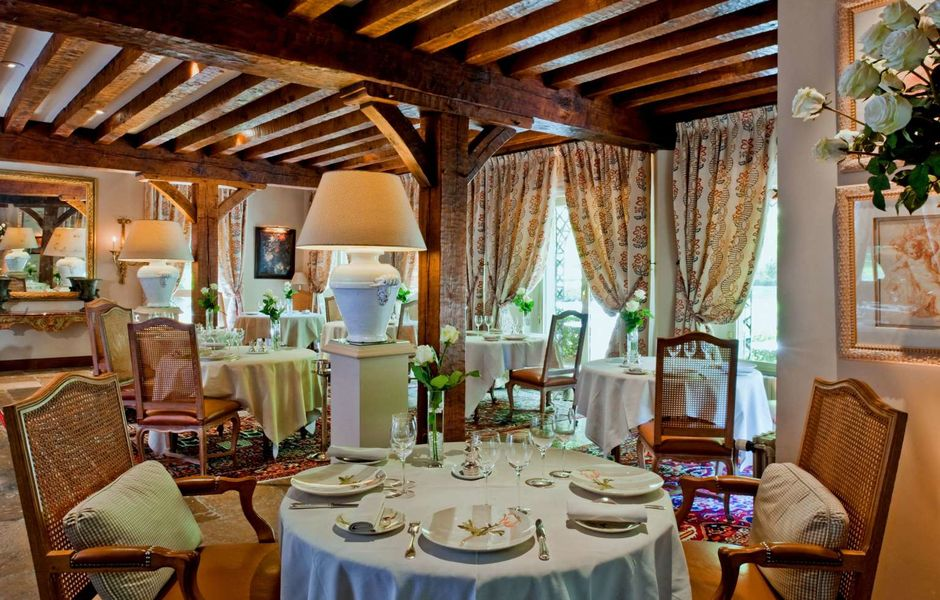 Auberge des Templiers ***** Restaurant