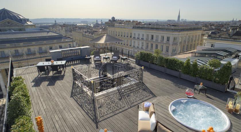Intercontinental Bordeaux le Grand Hotel ***** Terrasse