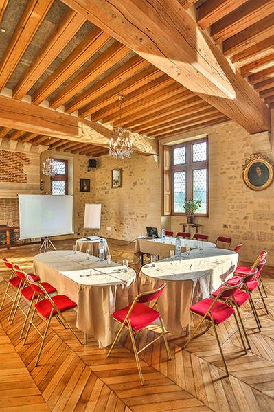 Château de Pontarmé Salle de séminaire