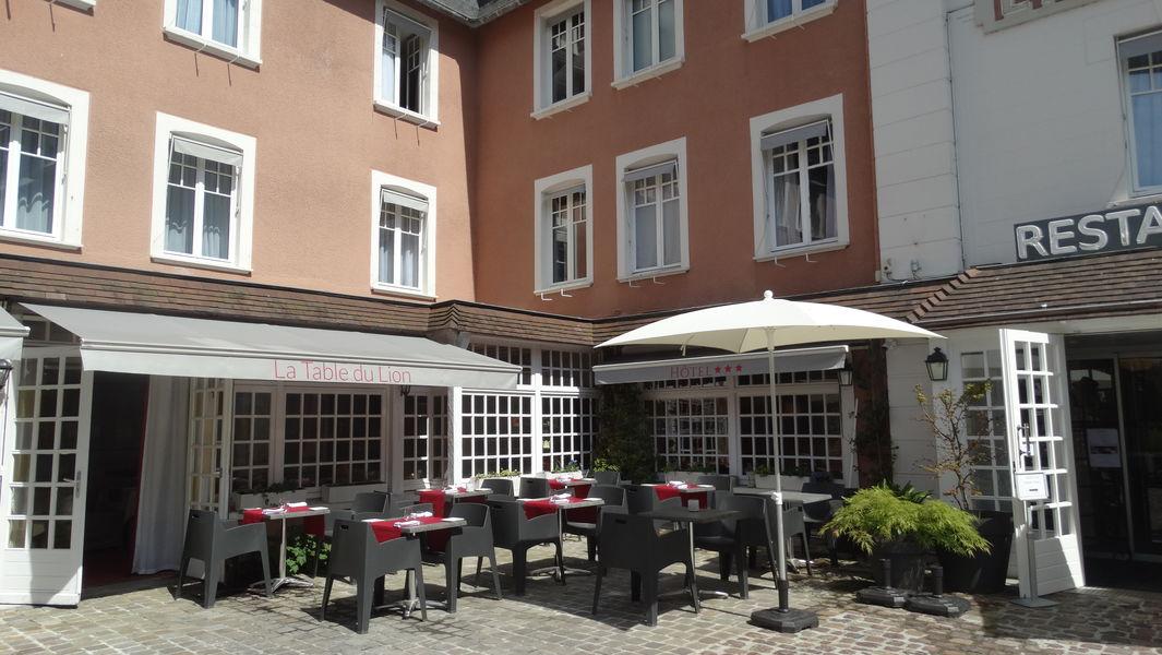 Hôtel Le Lion d'Or *** Terrasse
