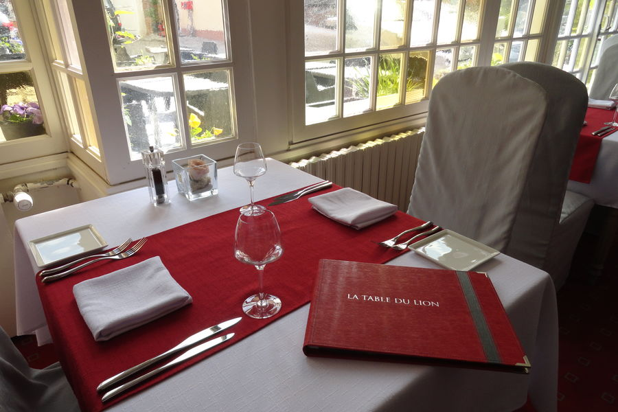 Hôtel Le Lion d'Or *** Restaurant