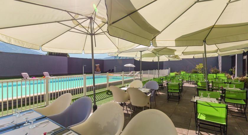 Appart'City Confort Alpexpo Grenoble Terrasse
