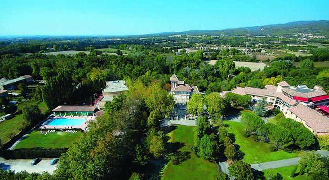 Vue aérienne du Domaine de Mousquety
