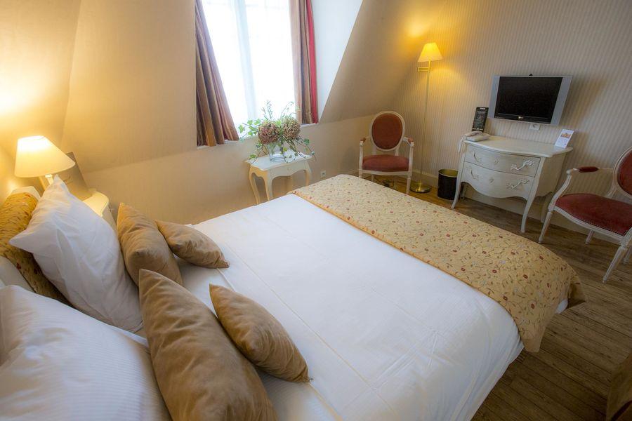 Augeval Hôtel Deauville *** Chambre