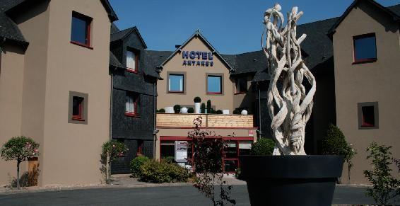 Hotel Antares - Le Spa Honfleur *** Façade
