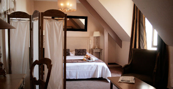 Hotel Antares - Le Spa Honfleur *** Chambre