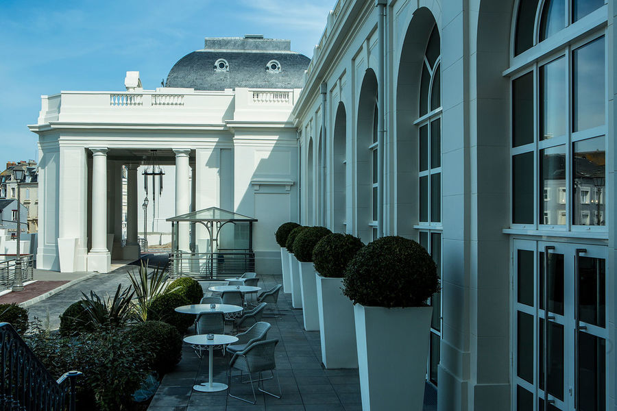 Cures Marines Trouville Hotel Thalasso & Spa ***** Terrasse