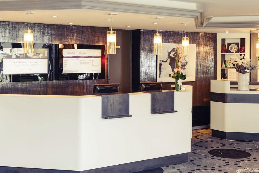 Hôtel Mercure Cabourg Hippodrome **** Accueil