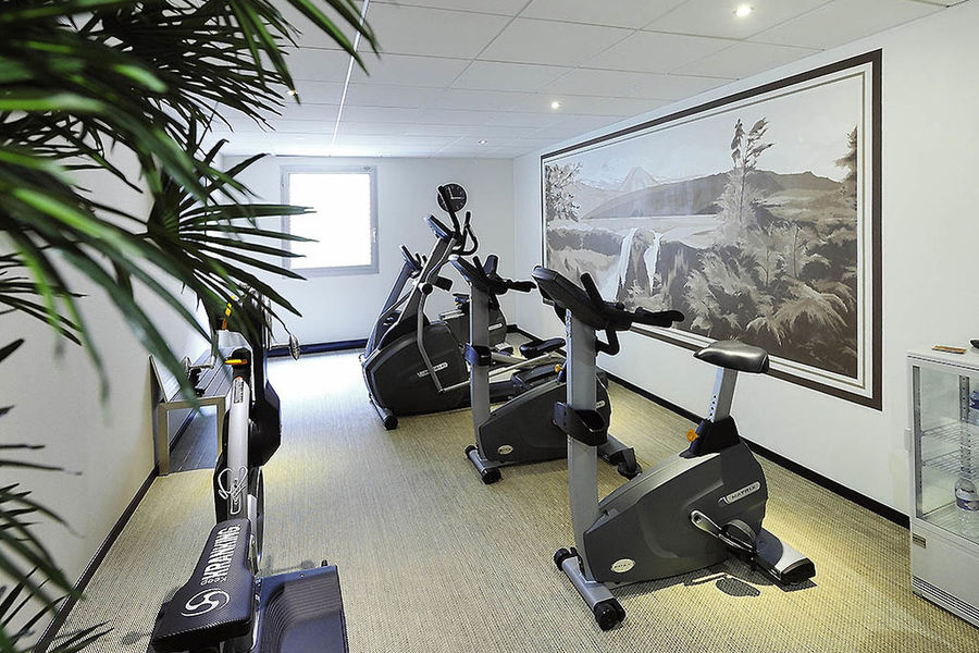 Mercure Rouen Champ De Mars **** Salle de fitness