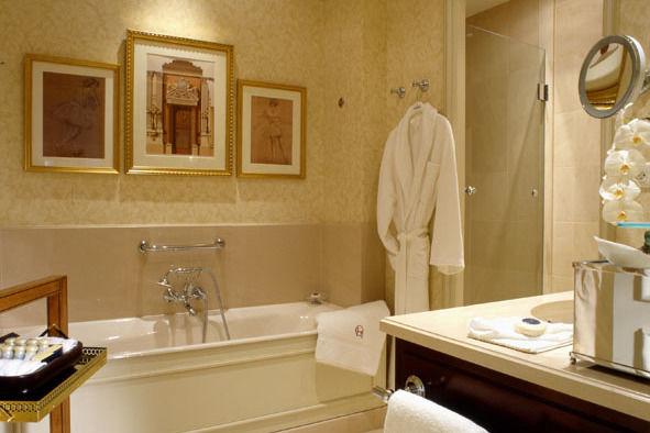 Hôtel Intercontinental Paris Le Grand **** Salle de bain