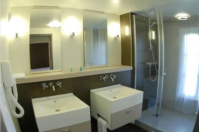 Cap Hornu Hôtel et Restaurant Salle de bain