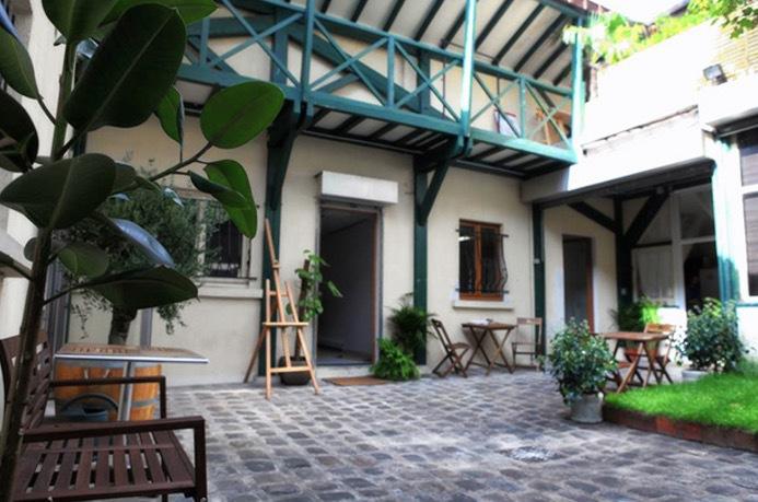 Villa Lemons  Cour