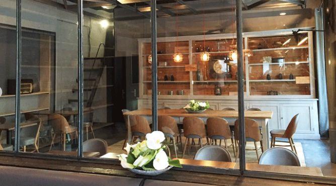 L'Initiale Café Salon privatif