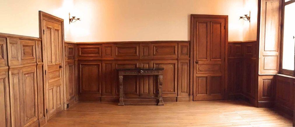 Manoir de Kerouzien Salle des boiseries