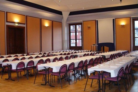 Château des Rohan Salle de réception