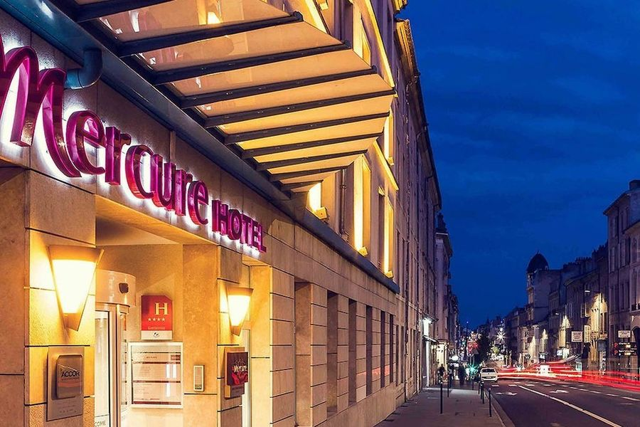 HOTEL MERCURE NANCY CENTRE GARE **** 2