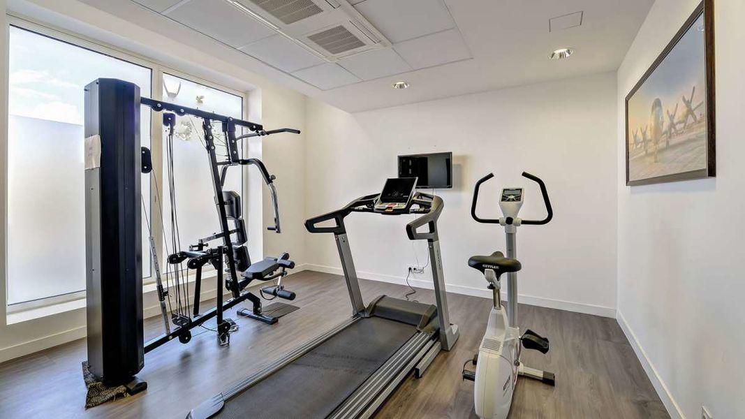 Appart'City Confort Le Bourget Blanc Mesnil*** Salle de fitness