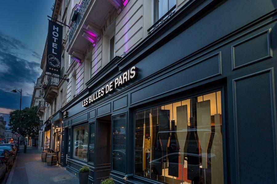 Hotel Les Bulles De Paris **** Façade