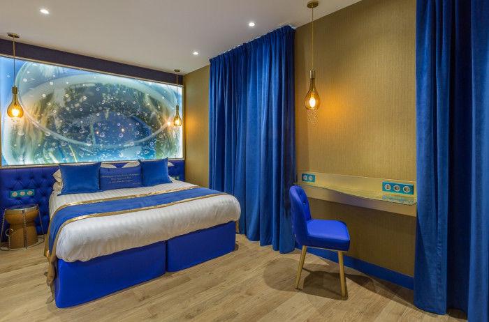 Hotel Les Bulles De Paris **** Chambre