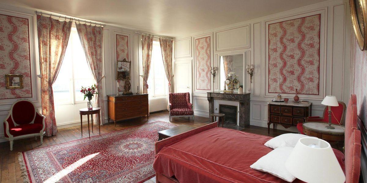 Château de Chéronne Chambre
