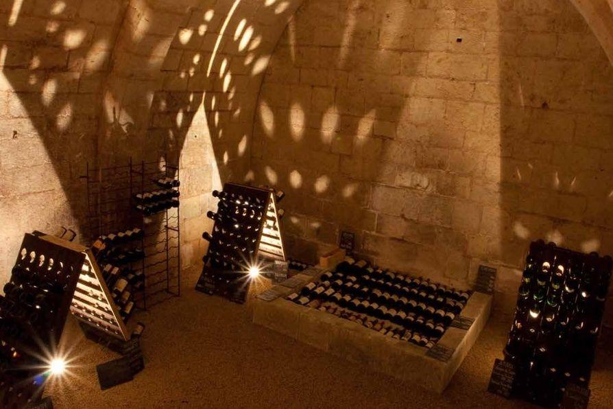 Château du Rivau Cave à vin