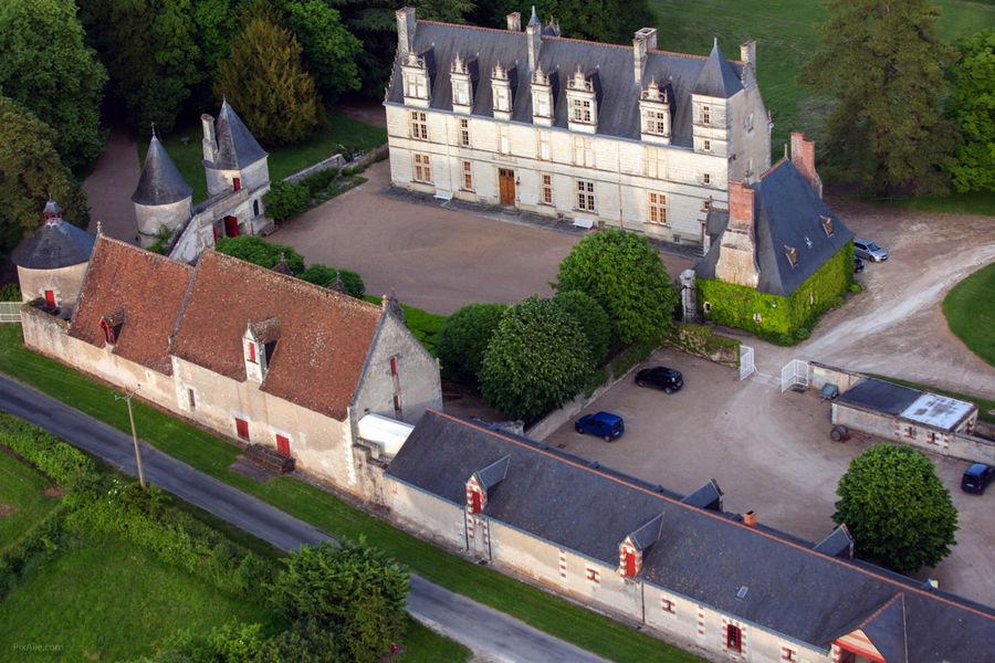 Château de Nitray Extérieur