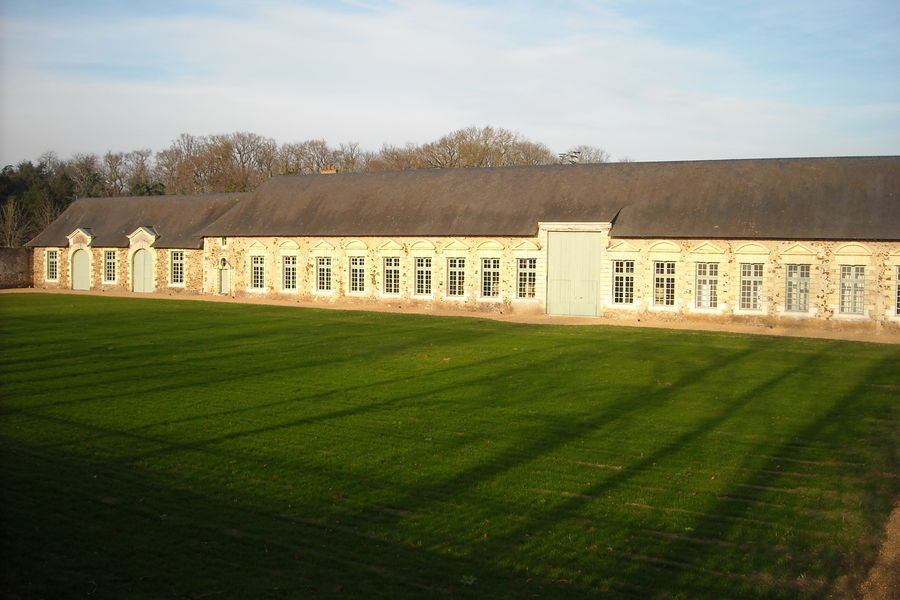Château de Serrant Vue Orangerie