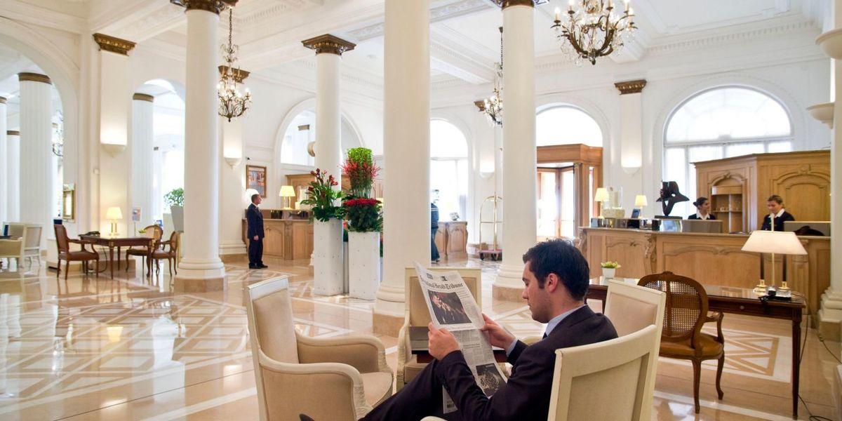 Hôtel InterContinental Carlton Cannes ***** Accueil