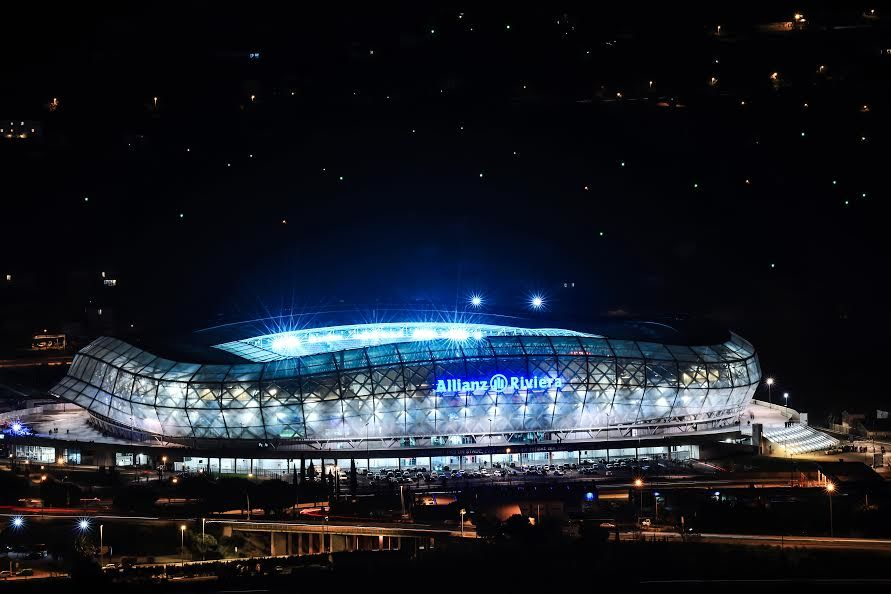 Allianz Riviera, Stade de Nice  Extérieur