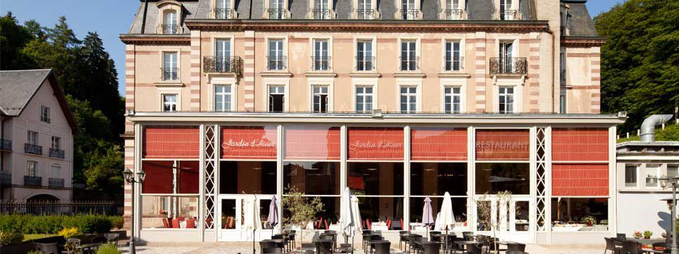 Grand Hôtel de Plombières *** Terrasse
