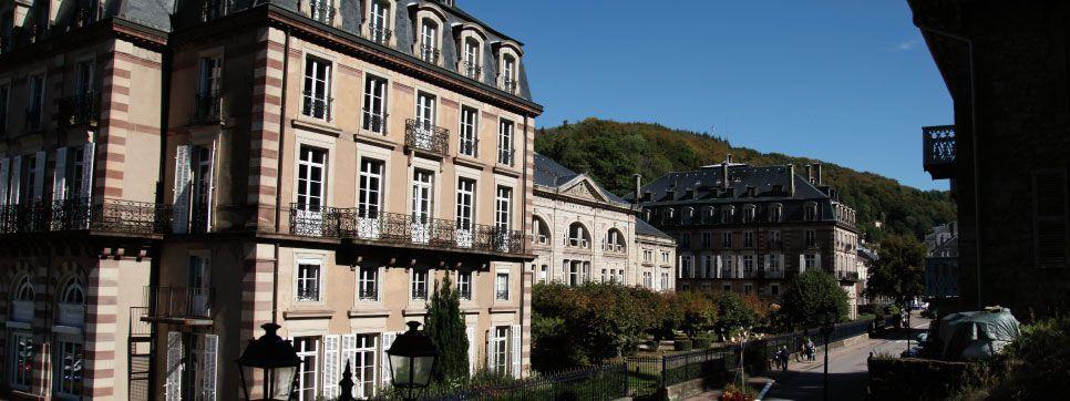 Grand Hôtel de Plombières *** Façade