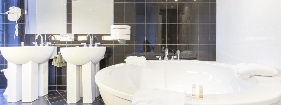 Grand Hôtel de Plombières *** Salle de bain