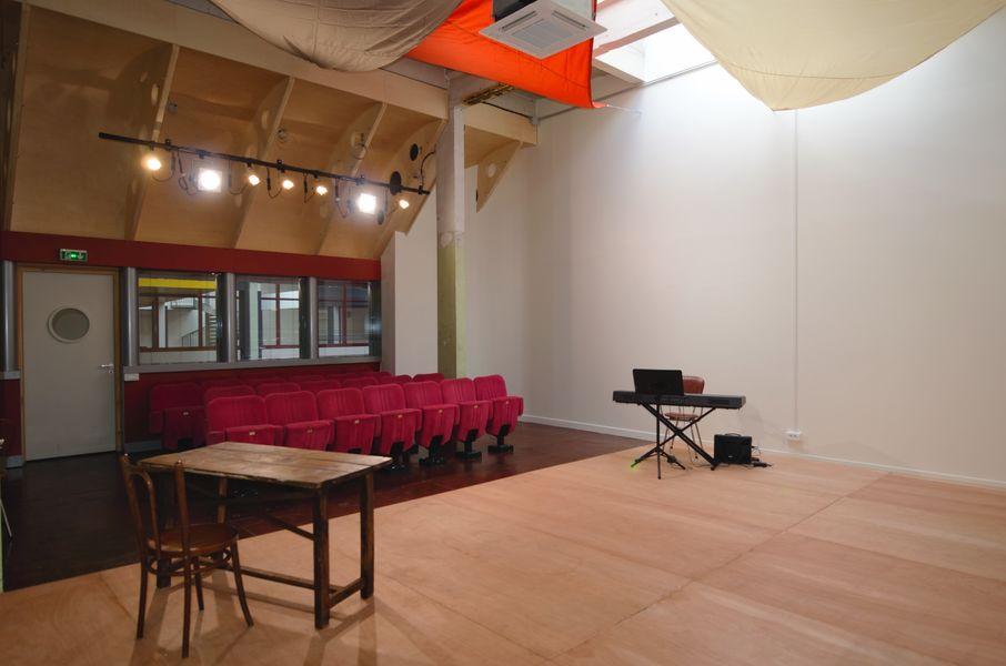 Générale Salle Comédie 1 + scène