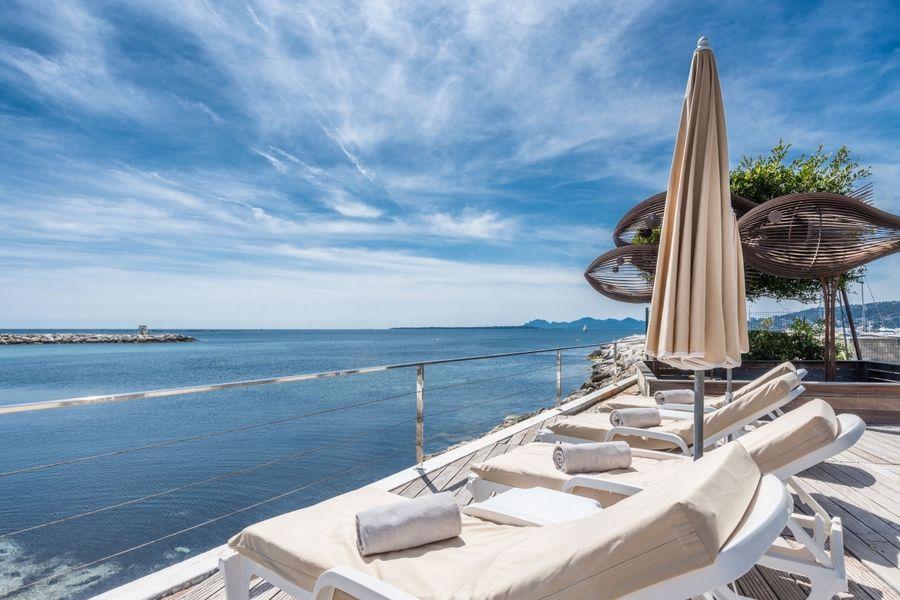 Cap d'Antibes Beach Hotel ***** Terrasse