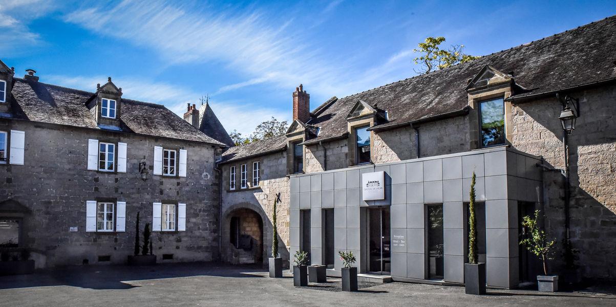 Hôtel Château de Lacan *** Extérieur