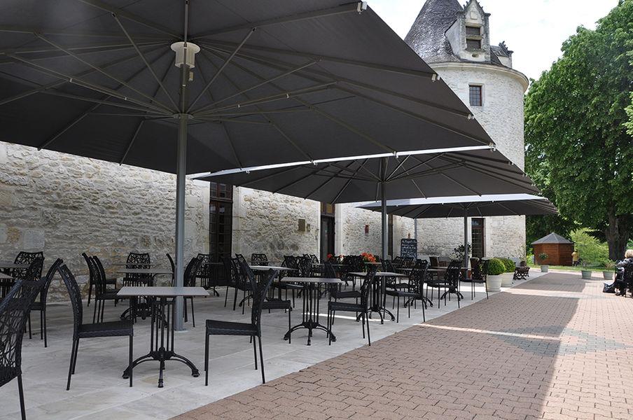 Château de la Fleunie *** Terrasse