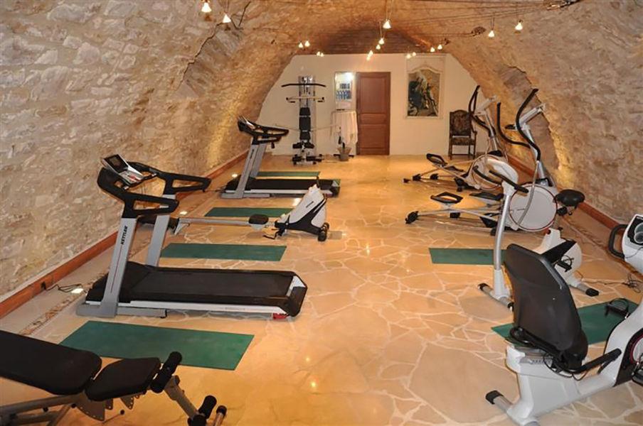 Château de la Fleunie *** Salle de fitness