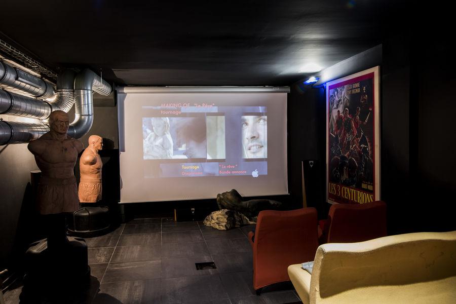 Loft Hardi Salle de cinéma