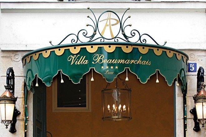 Villa Beaumarchais **** Façade