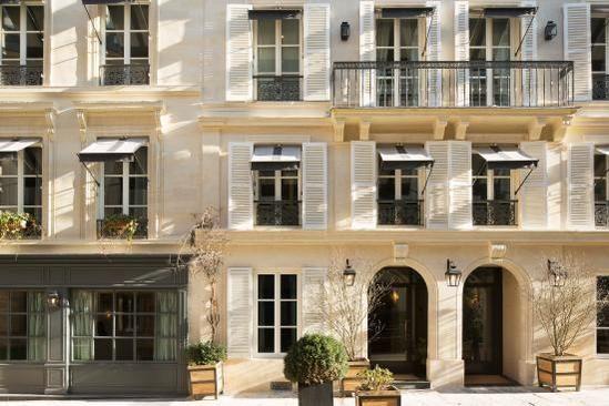 Le Saint Hotel Paris **** Façade