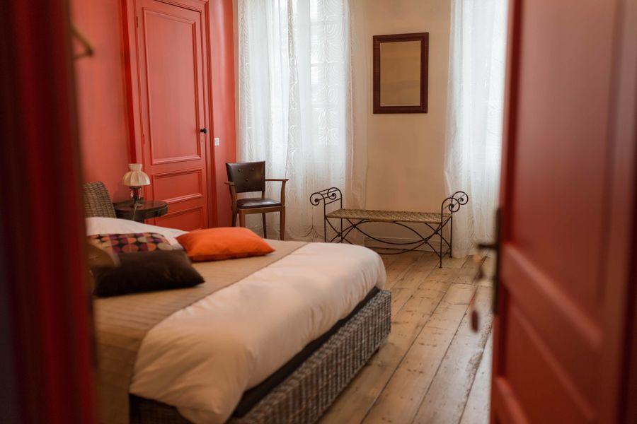 Château rouge  Chambre